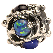 Buy Trollbeads Wisdom Precious Stone and Silver Bead Online at johnlewis.com