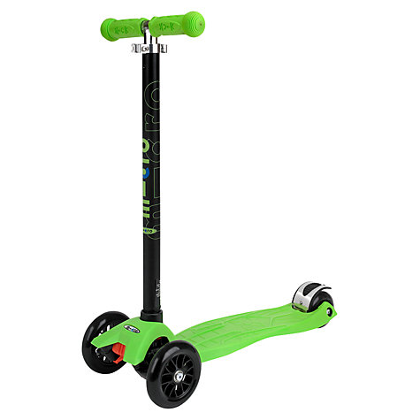 Buy Micro Scooters Limited Edition Maxi Micro Scooter, Green Online at johnlewis.com