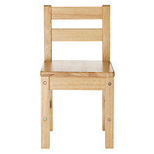 Buy John Lewis Classic Children's Chair, Natural Online at johnlewis.com