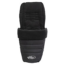 Buy Baby Jogger City Mini Multi-fit Footmuff, Black Online at johnlewis.com