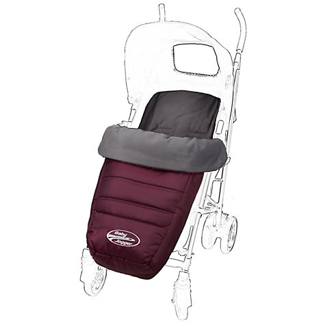 Buy Baby Jogger City Mini Multi-fit Footmuff, Purple Online at johnlewis.com