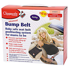 Buy Clippasafe Advanced Bump Belt Online at johnlewis.com
