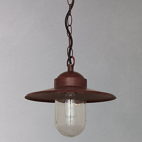 Buy Nordlux Luxembourg Outdoor Pendant, 'Weathered' Finish Online at johnlewis.com