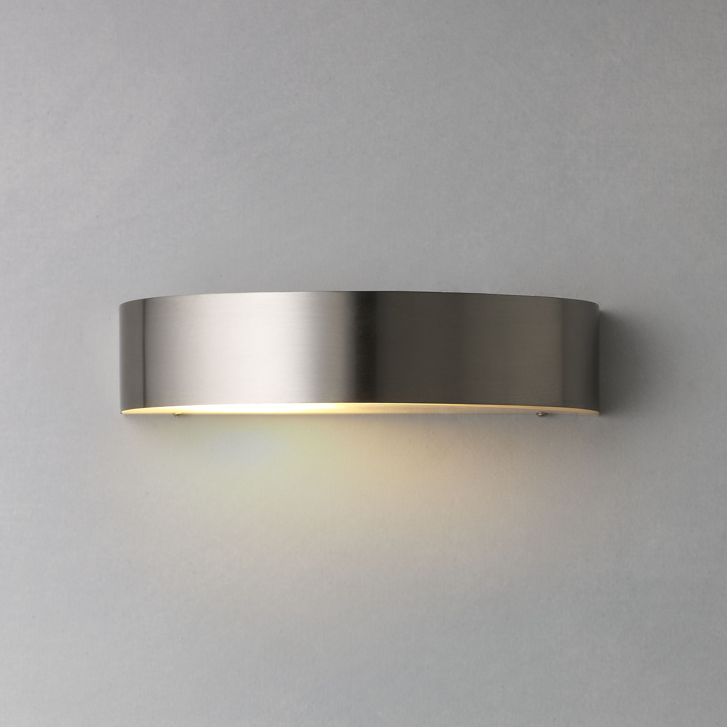Wall Mounted Arc Lights : Buy Nordlux Arc Outdoor Wall Light, Stainless Steel John Lewis
