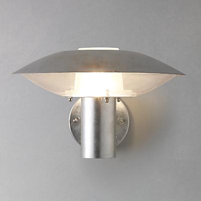 Nordlux Disco Glavanised Steel Outdoor Wall Light