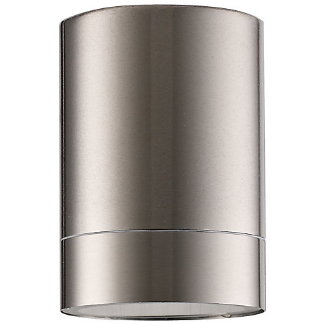 Buy Nordlux Tin Maxi Outdoor Wall Light, Stainless Steel Online at johnlewis.com