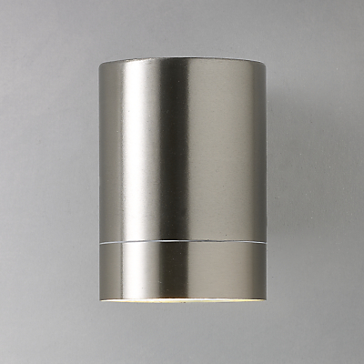 Nordlux Tin Maxi Outdoor Wall Light, Stainless Steel