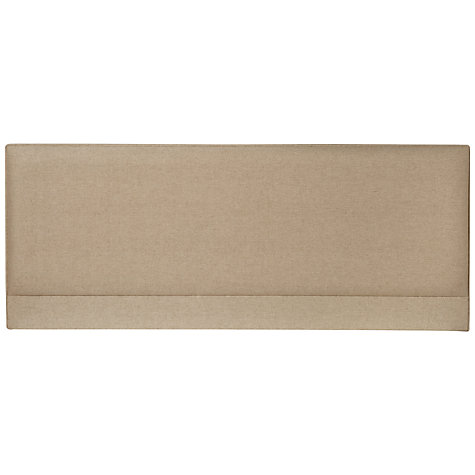 Buy John Lewis Caversham Headboard, Oatmeal, Kingsize Online at johnlewis.com