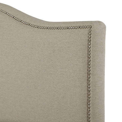 Buy John Lewis Jennifer Headboard, Linen, Kingsize Online at johnlewis.com