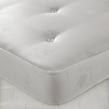 Buy little home at John Lewis Open Spring Mattress 2, Single Online at johnlewis.com