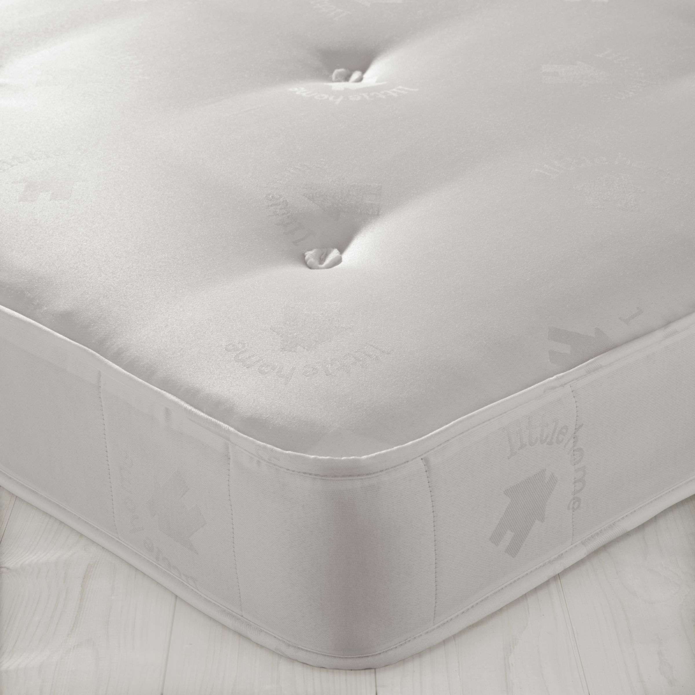 little home at John Lewis Open Spring Mattress 2, Single