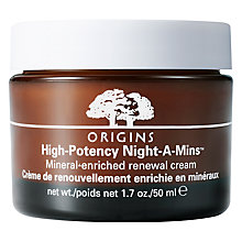 Buy Origins Night-A-Mins® Crease Release Moisturiser, 50ml Online at johnlewis.com