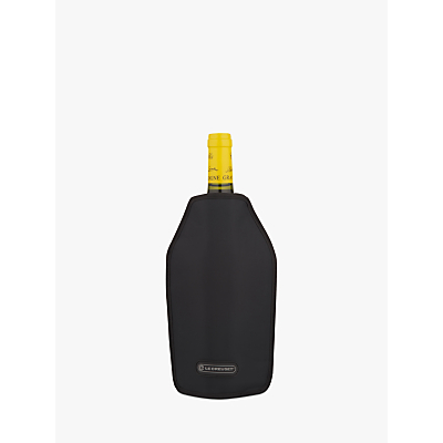 Le Creuset Wine Accessories Cooler Sleeve, Black