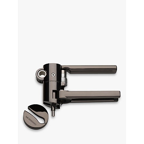 Buy Le Creuset Wine Accessories LM-G10 Geo Lever Corkscrew Online at johnlewis.com