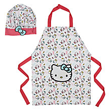 Buy Hello Kitty Child's Apron and Hat Set Online at johnlewis.com