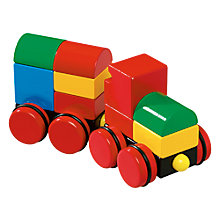 Buy Brio Magnetic Stacking Train Online at johnlewis.com