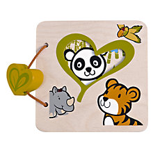 Buy Hape My First Wooden Book Online at johnlewis.com