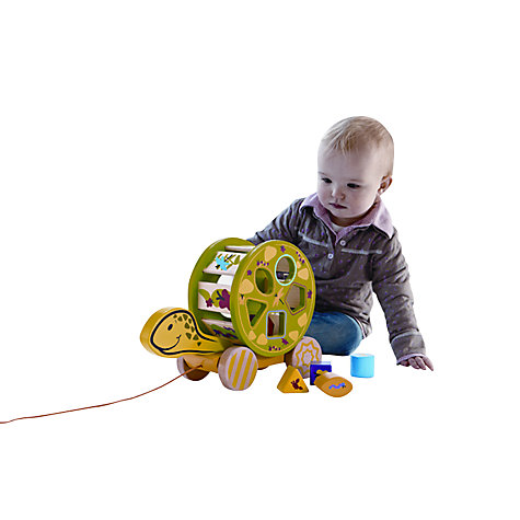 Buy Hape Turtle Pullalong Shape Sorter Online at johnlewis.com