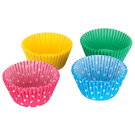 Buy John Lewis Spots Muffin Cases, Pack of 100 Online at johnlewis.com