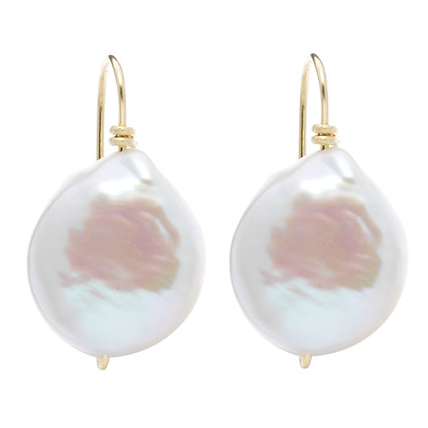 Buy Cobra & Bellamy Fresh Water Pearl Earrings Online at johnlewis.com