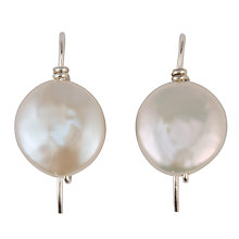 Buy Cobra & Bellamy Freshwater Pearl Drop Earrings Online at johnlewis.com