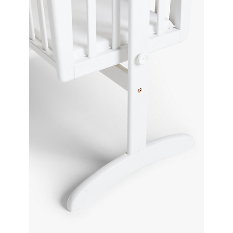 Buy John Lewis Anna Swinging Crib, White Online at johnlewis.com