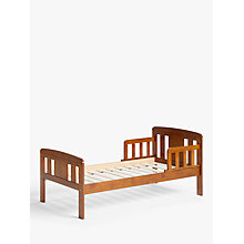 Buy John Lewis Boris Toddler Bedstead, Antique Darkwood Online at johnlewis.com