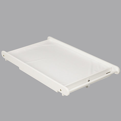 Buy John Lewis Cot Top Changer and Changing Mat, White Online at johnlewis.com
