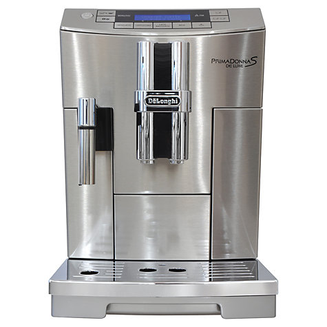 Buy De'Longhi ECAM26455 PrimaDonna S De Luxe, Automatic Bean-to-Cup Coffee Machine Online at johnlewis.com