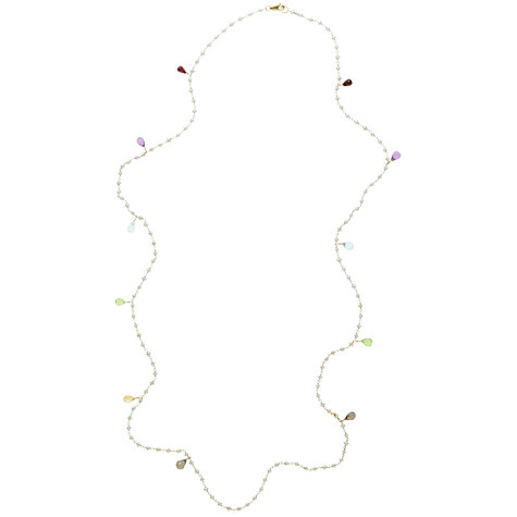 Buy Cobra & Bellemy Silver Pearl Gems Chain Online at johnlewis.com