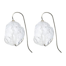 Buy Cobra & Bellamy's Rock Crystal Silver Earrings Online at johnlewis.com
