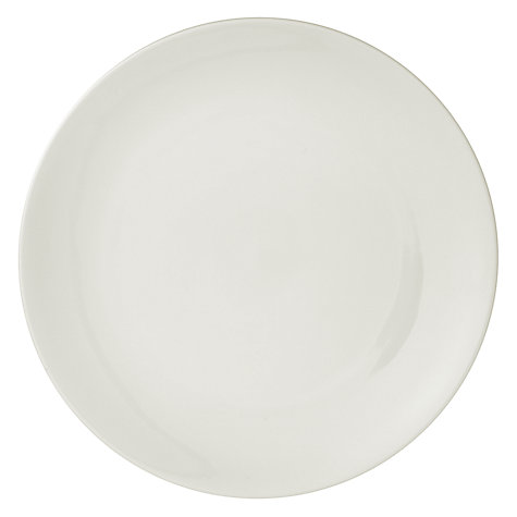 Buy House by John Lewis Coupe Dinner Plate, Dia.27.5cm Online at johnlewis.com