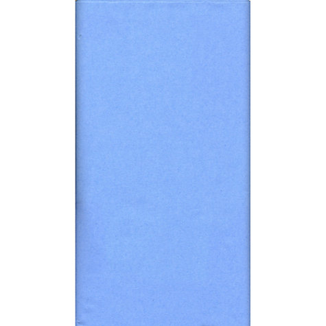 Buy John Lewis Disposable Table Cover, Blue, L180cm Online at johnlewis.com