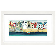 Buy Catherine Stephenson- Quayside Framed Print, 88 x 53cm Online at johnlewis.com
