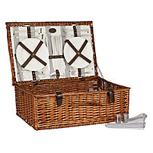 Buy John Lewis Luxury Puritan Hamper, 4 Person Online at johnlewis.com
