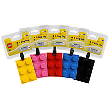 Buy Lego Luggage Tags, Assorted Online at johnlewis.com