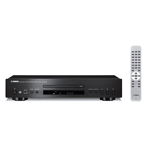 Buy Yamaha CD-S300 CD Player, Black Online at johnlewis.com