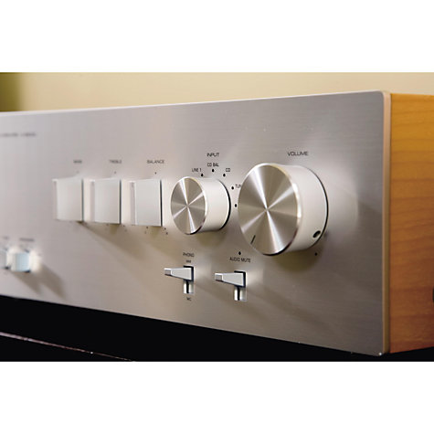 Buy Yamaha AS2000 Integrated Amplifier, Silver Online at johnlewis.com
