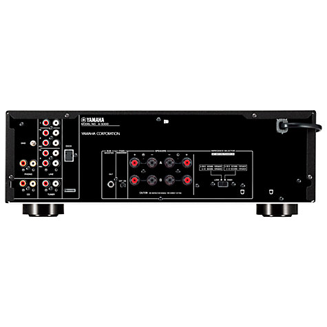 Buy Yamaha A-S300 Amplifier, Black Online at johnlewis.com
