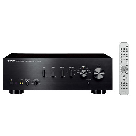 Buy Yamaha A-S500 Amplifier, Black Online at johnlewis.com
