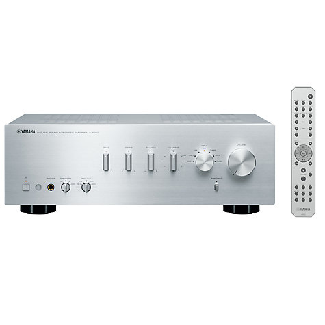 Buy Yamaha A-S500 Amplifier, Silver Online at johnlewis.com