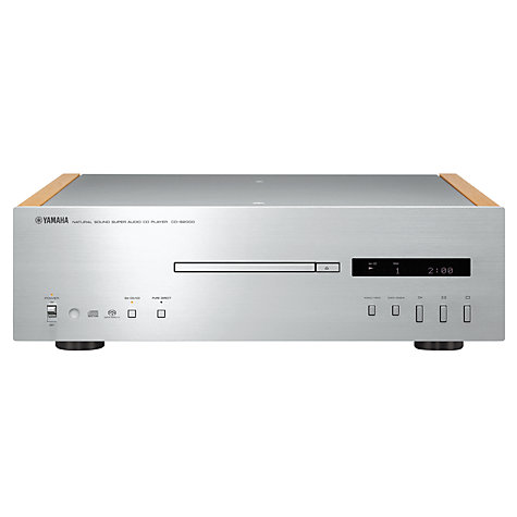 Buy Yamaha CD-S2000 CD Player, Silver Online at johnlewis.com