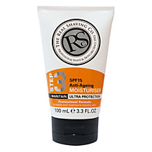 Buy The Real Shaving Co. Advanced SPF15 Moisturiser, 100ml Online at johnlewis.com