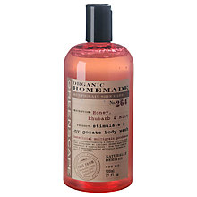Buy Greenscape Honey, Rhubarb and Mint Body Wash, 500ml Online at johnlewis.com