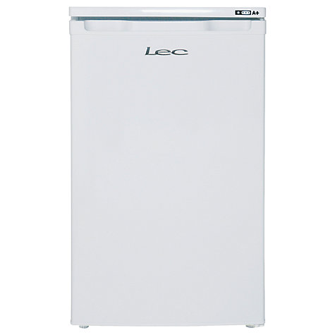 Buy Lec U5010W Freezer, A+ Energy Rating, 50cm Wide, White Online at johnlewis.com