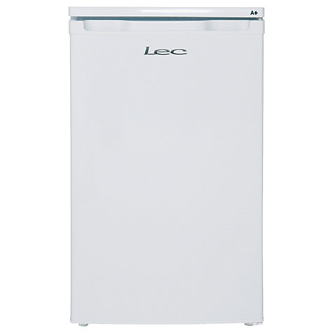 Buy Lec L5010W Larder Fridge, A+ Energy Rating, 50cm Wide, White Online at johnlewis.com