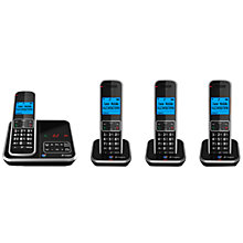 Buy BT Inspire 1500 Digital Telephone and Answering Machine, Quad DECT Online at johnlewis.com