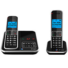 Buy BT Inspire 1500 Digital Telephone and Answering Machine, Twin DECT Online at johnlewis.com