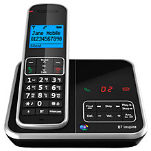 Buy BT Inspire 1500 Digital Telephone and Answering Machine, Single DECT Online at johnlewis.com