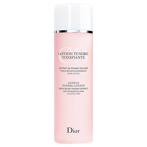 Buy Dior Gentle Toning Lotion, 200ml Online at johnlewis.com